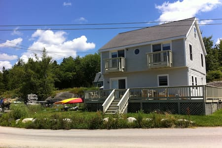 Waterview home in Phippsburg, Maine