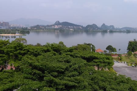 About 300 sqft ((30 SQM) studio face to lake - Zhaoqing - Lejlighed