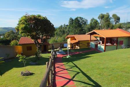 Chalé na Serra - Serra Negra - Casa