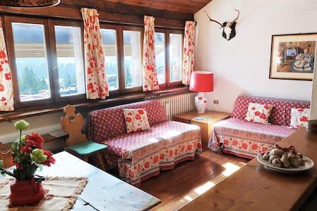 ★ Incantevole vista sulle Dolomiti★ - San Martino di Castrozza - Leilighet