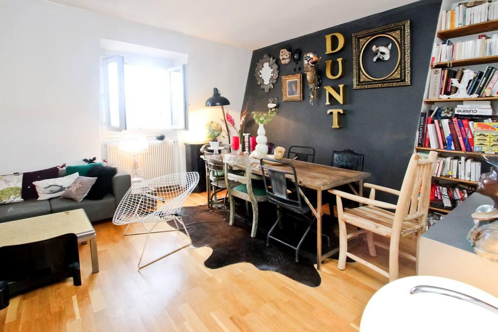 Heart of the Marais, beautiful flat