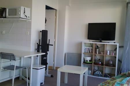 Studio de 22m² avec balcon couvert - Apartment