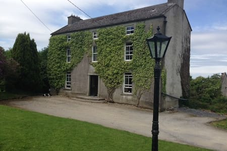 Double bedroom in rural carlow - Huis