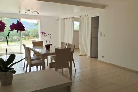 villa- piscine & appart chic - Carnoules - House