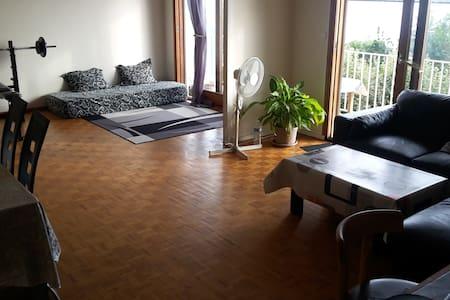 Chambre dans grand appartement avec tout confort - Condominium