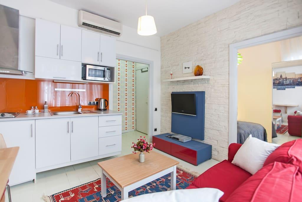 Revolution Flat with 1 Bedroom