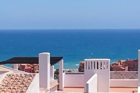 Amazing views from modern top floor - Manilva - Apartamento