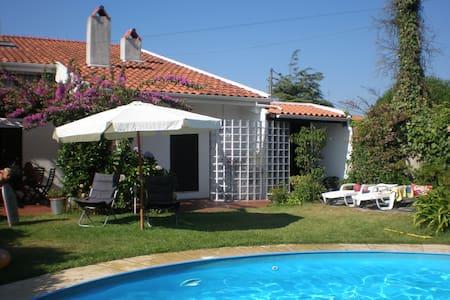 Casa com piscina - Árvore