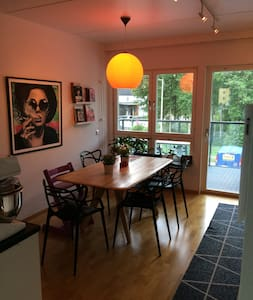 Family home 10min from city - Wohnung