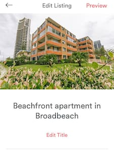 Beachfront apartment Broadbeach - Broadbeach - Apartment