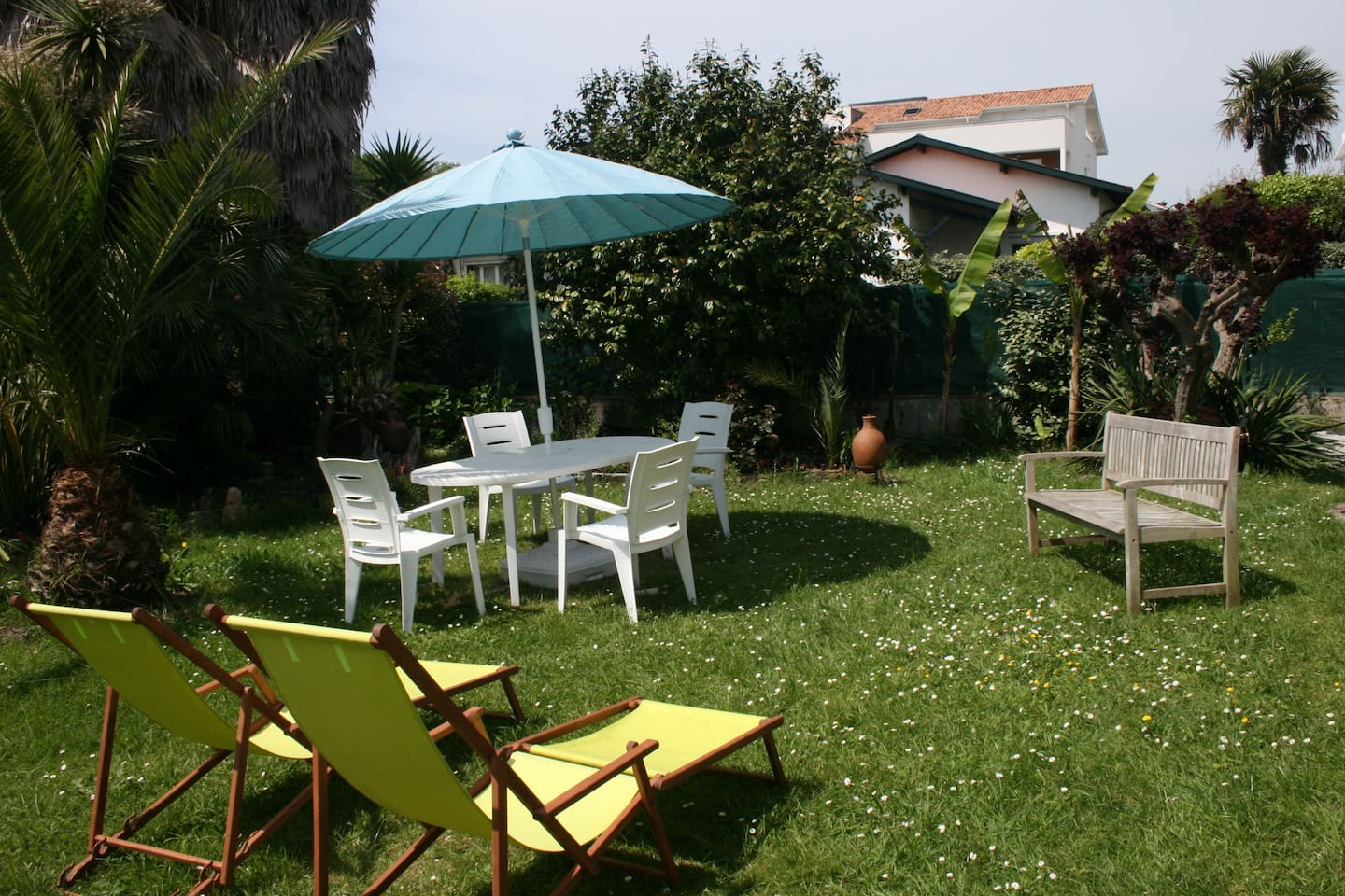 Appartement avec jardin houses for rent in anglet for Appartement avec jardin