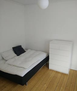 3 rooms, balcony. Central Aalborg