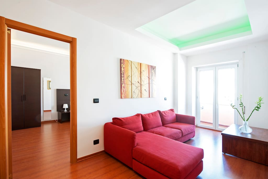 Newly renovated apartment in Rome