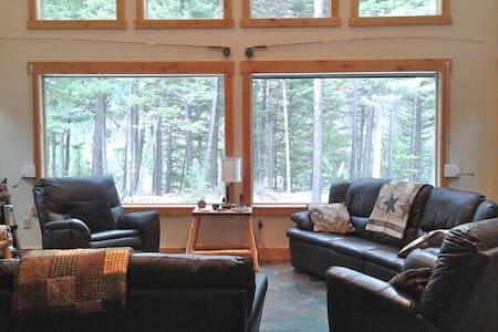 Glacier Park Riverfront on 9 private acres!!! - Essex - Ev