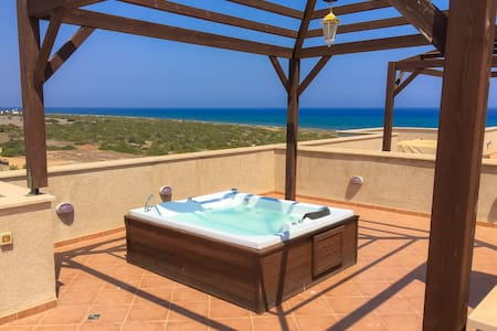 Luxury sea view beach penthouse apartment - Bafra