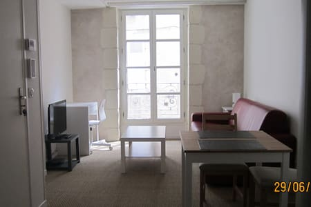 D - Charmant studio dans une rue piétonne de Blois - Blois - Apartment