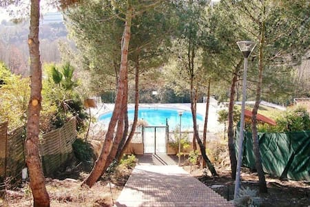 Spacious & Quiet Studio near Antibes with Pool - Appartement