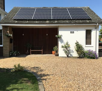 Self-contained annexe just south of Cambridge - Lejlighed