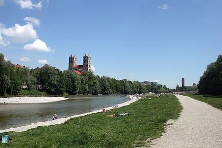 Top Flat near Isar and Citycenter - Munich - Appartement