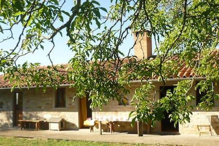 Casa in pietra nel verde e  fiori - Pietralunga - Haus