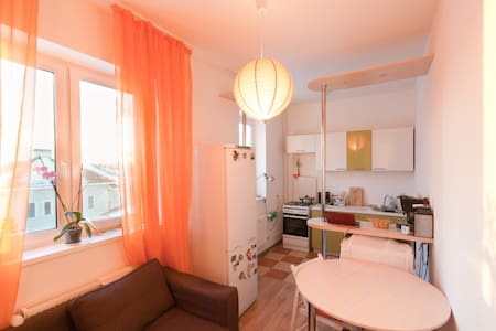 Great room + Breakfast + free Wi-Fi - Apartment