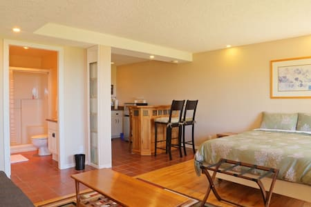 Deluxe oceanview with kitchenette - Sooke - Bed & Breakfast
