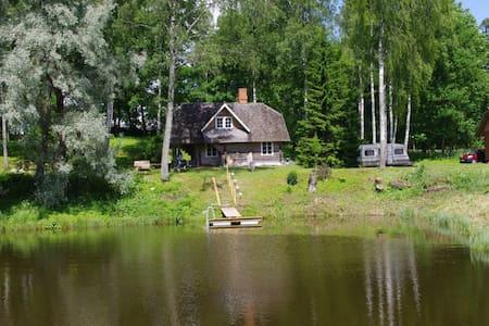 Otepää cozy log house with sauna - House