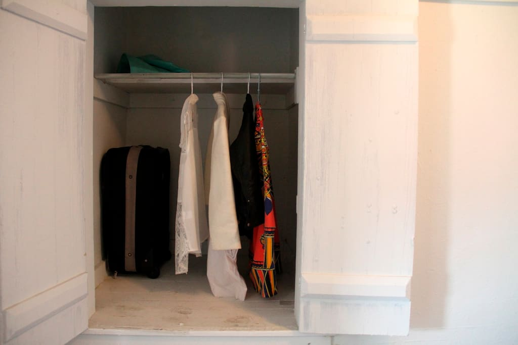 Heaps of closet space.
