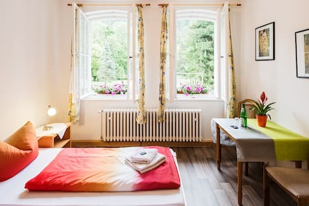 Doppelzimmer im Thüringer Wald - House
