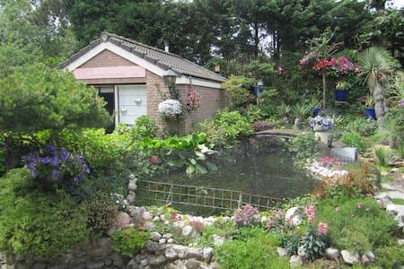 Romantic room in beautiful garden! - Zandvoort - Cabin