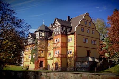 Kleine Wohnung im Schloss-Geyso - Apartamento