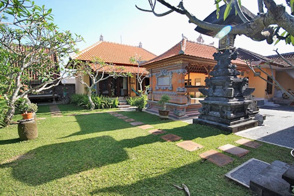 Garden and Family temple