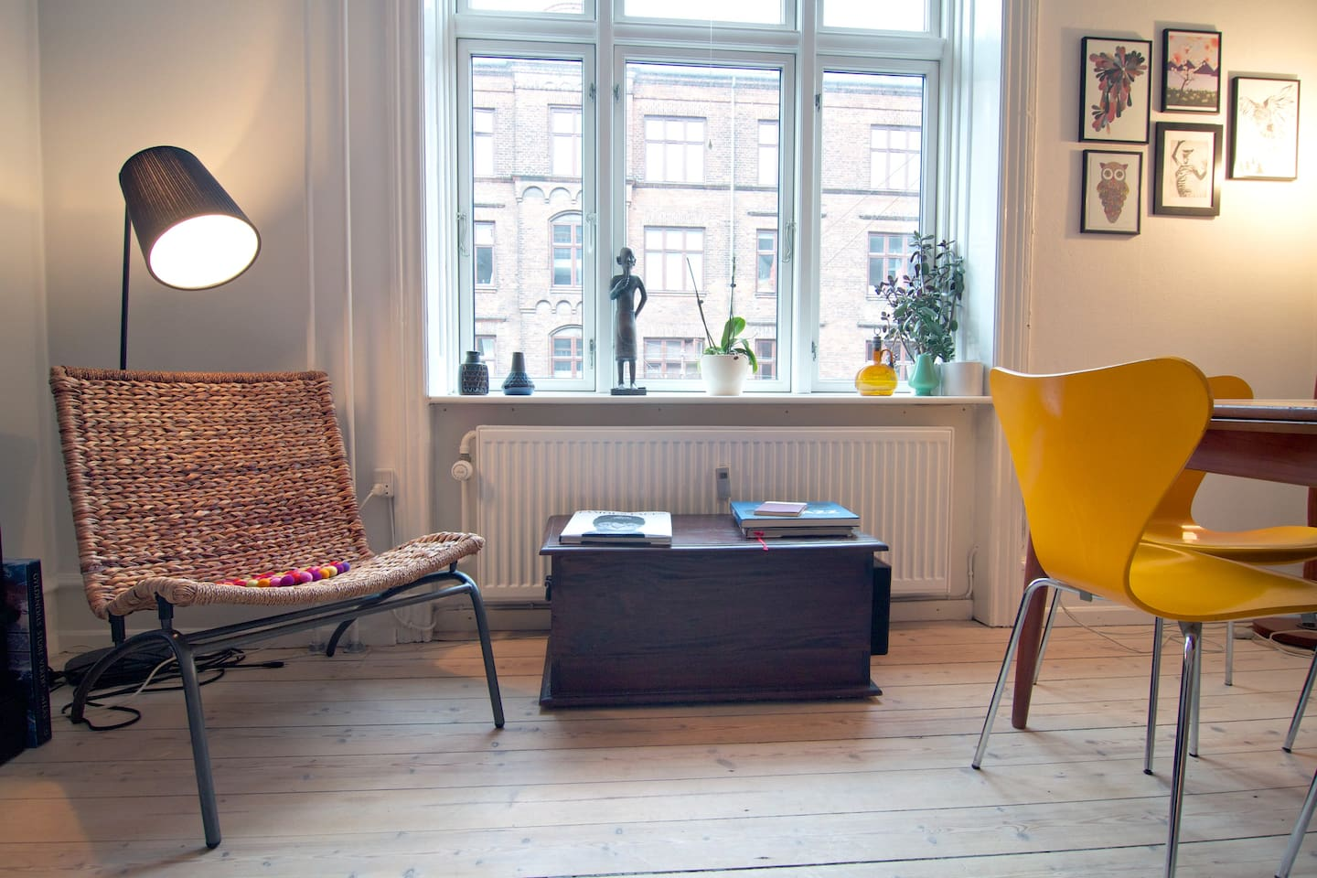 Central apartment in hip Vesterbro