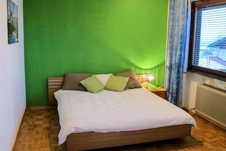 De Groene Kamer (Appartement;badkamer+balkon) - Ház