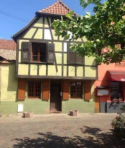 Charmante Maison Alsacienne - Townhouse