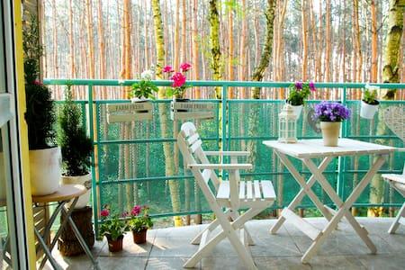 Cosy studio with green balcony - Apartment