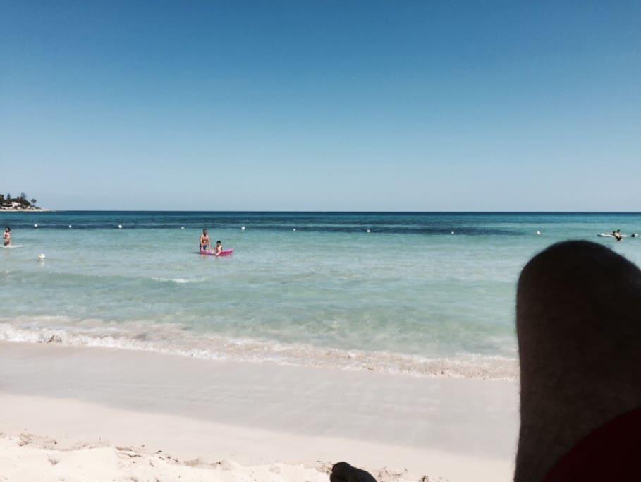 beach just 50mt close