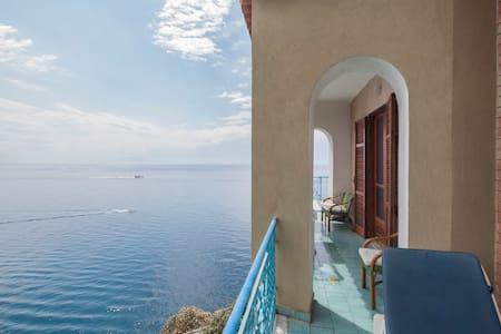 Private Beach Amalfi Coast Sea View - Maiori - Apartment