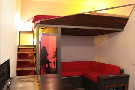Rouge et Noir mini loft in via di monserrato - Roma