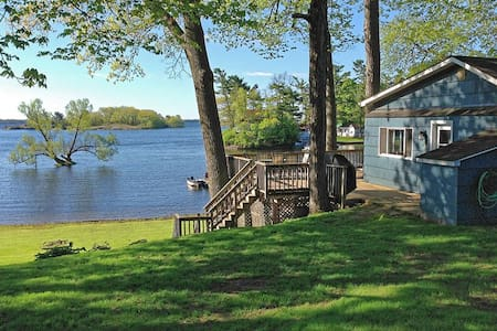 Thousand Islands Waterfront Cottage - Mallorytown - 小木屋