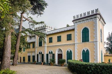 Glicine double room in castle - Zoagli - Linna