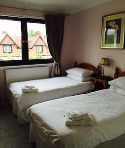 Twin/double room by Loch Lomond @ Lomond Villa B&B - Balloch