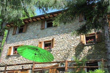 Casa Debbio, Tuscan mountain house - Vergemoli
