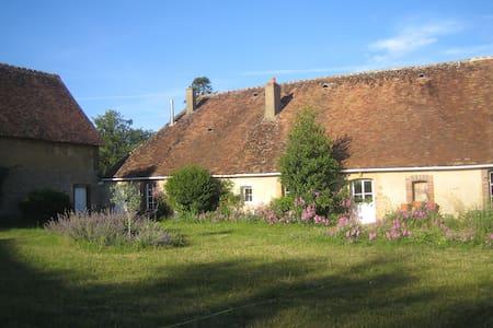 Maison de campagne en Bourgogne - Mézilles - Huis