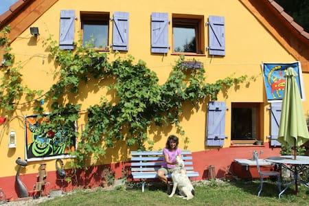 Chambre privée/ rando, peinture - House