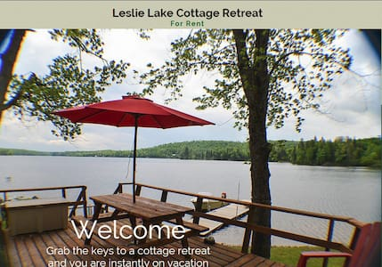 4 Season Lakefront Cottage - Campbell's Bay