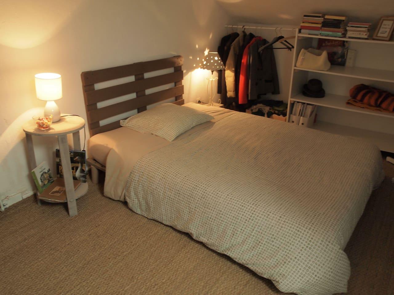 La chambre dont vous disposerez