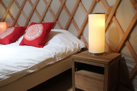 Cosy yurt in Burgundy - Yurt