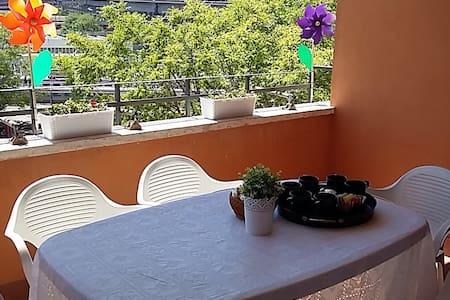Sunny terrace oldtown flat