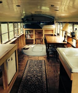 Comfy Renovated School Bus - Brattleboro - Diğer